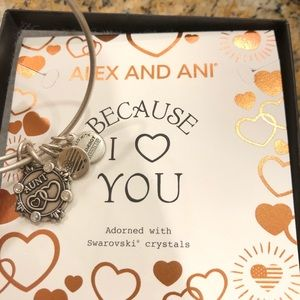 ALEX AND ANI BECAUSE I LOVE YOU AUNT CHARM BANGLE